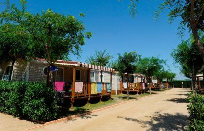 mobil home camping playa