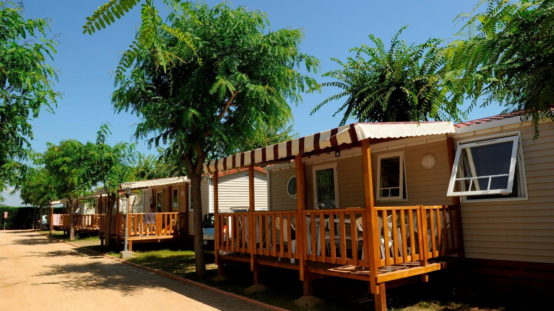 bungalow camping spanje costa brava