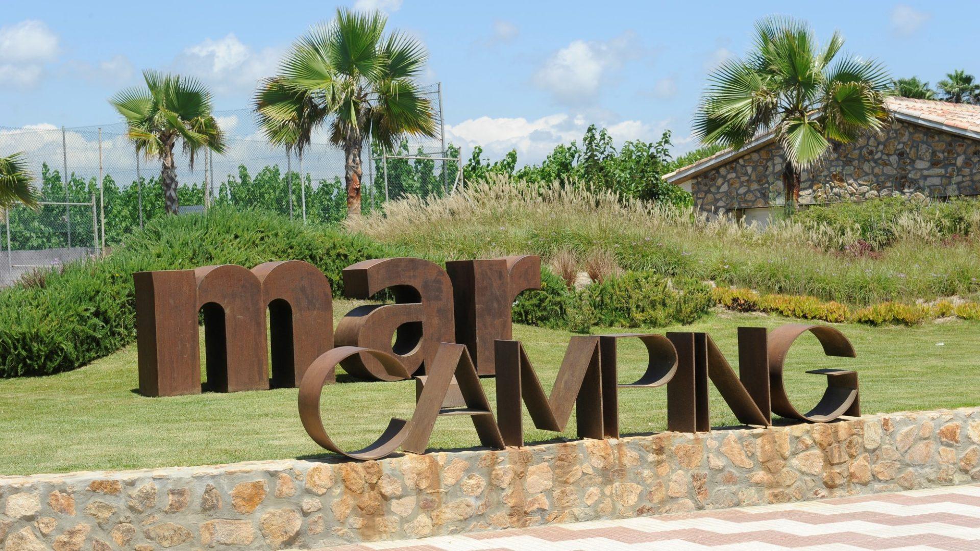 camping spain coast family