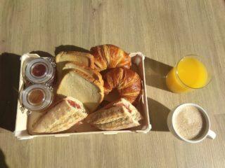 camping desayuno